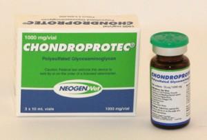 Chrondroprotec polysulfated glycosaminoglycan