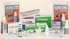variety of hymed wound care products